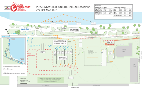 Junior Challlenge Course Map 2018 (9 Jan)