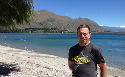 First ever paratriathlete to take on Lake Wanaka course has eyes on Rio 2016